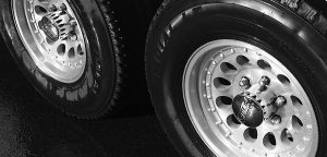 Aluminum wheels made bright and clean with Silver BritePlus MX
