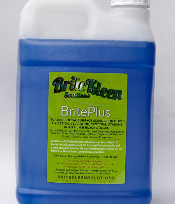 BritePlus 2.5 Gallon Aluminum and Stainless steel cleaner